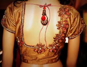 saree blouse side view picture 10