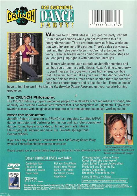 crunch fat burning dance party dvd picture 1