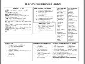 +dr. oz rapid weight loss plan before and picture 2