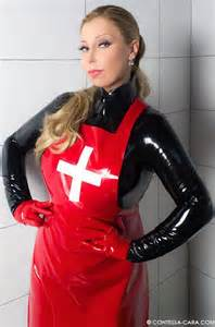 hot evil female doctors with latex gloves with picture 5