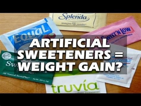 Artificial sweeteners and weight gain picture 6