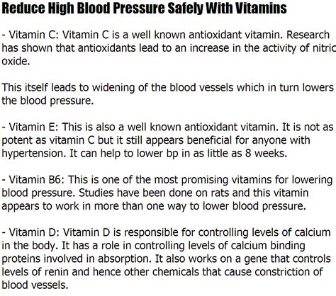 high blood pressure reduce for vitamin picture 1