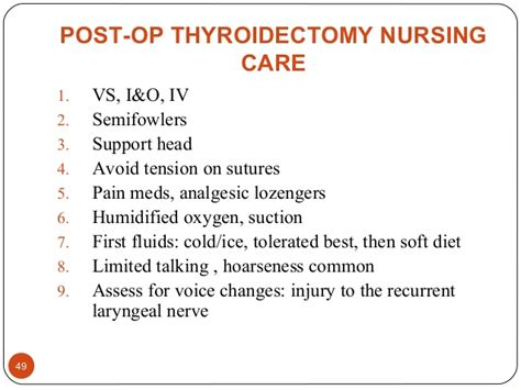 nursing care of post op parathyroidectomy picture 3