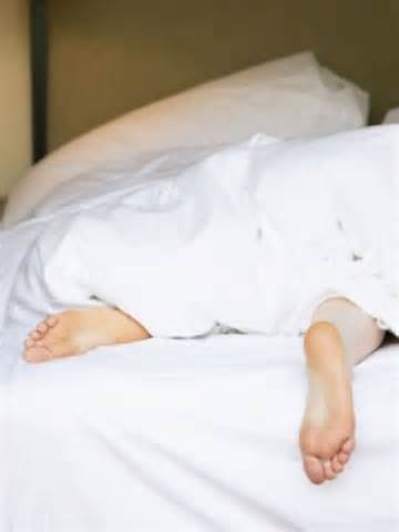 person sleeping in bed picture 7