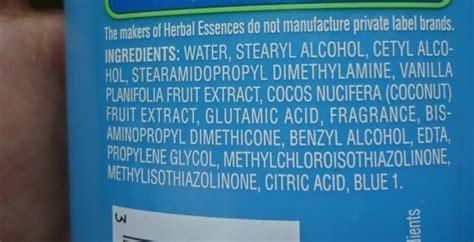 herbal essences shampoo ingredients picture 1