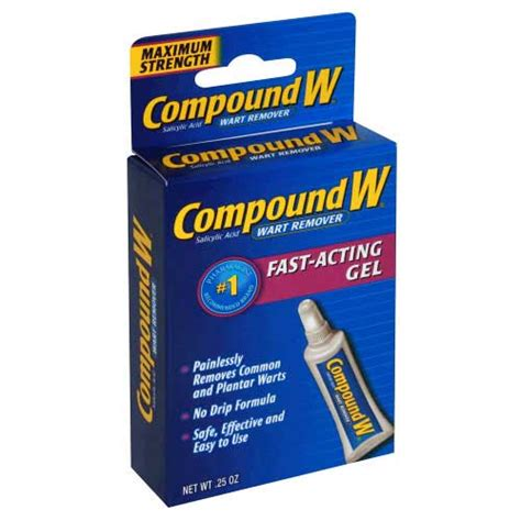compound wart gel brown spot face picture 1