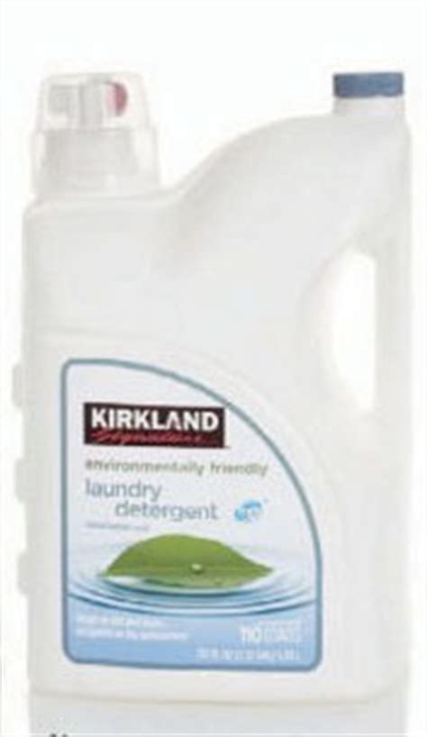 costco brand laundry detergent have cough as side picture 2
