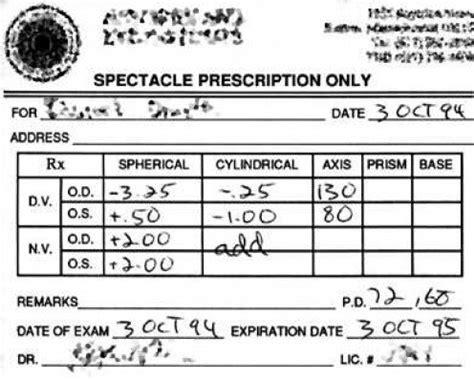 forms rx prescription sample example picture 15