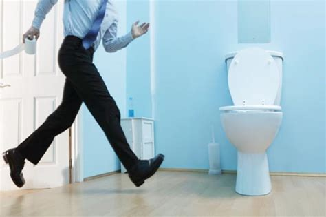 man with huge bladder at urinal picture 10