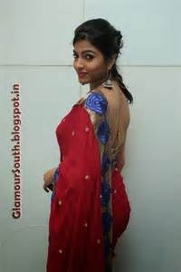 saree hot back view picture 2