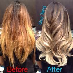 light ash blonde on orange hair picture 1