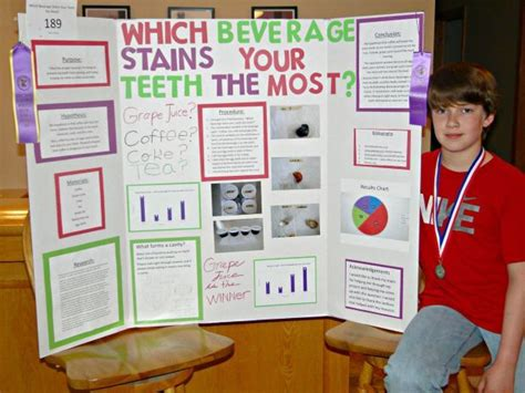 different liquids stain teeth science project picture 2