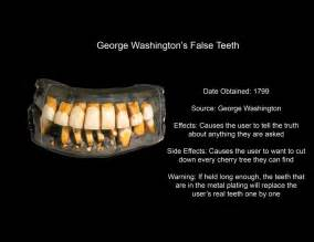 george washington's false teeth picture 2