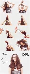 how to cut layers in your own hair picture 5