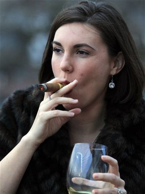 girls smoke cigar in eroprofile picture 6