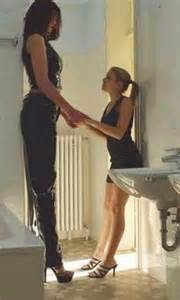 giantess big tall woman vs small man picture 7