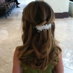 hairstyles for communion short hair picture 3