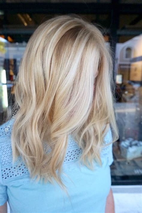 blonde hair highlights picture 11