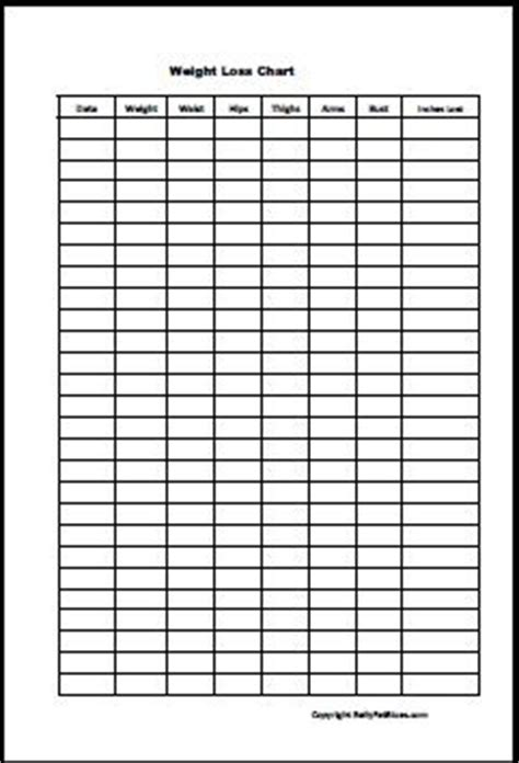 wall chart for weight loss monitoring picture 14
