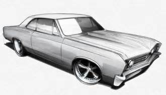 drawing old muscle cars picture 6