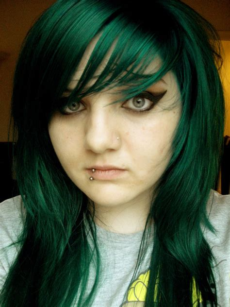color hair green picture 10
