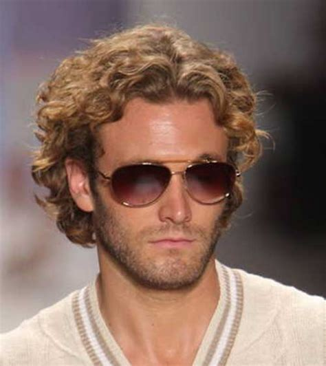 man with blonde curly hair picture 10