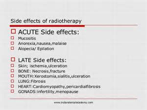 acne radiation side effects picture 2
