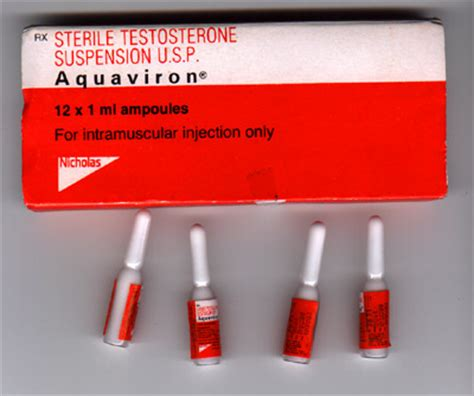 testosterone injectable suspension usp aquaviron picture 7