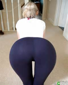 light skin enony in yoga pants picture 11
