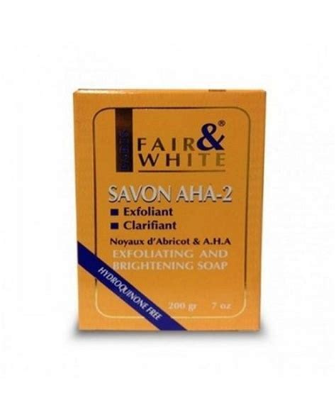 fair and white aha2 savon exfoliating and brightening picture 3