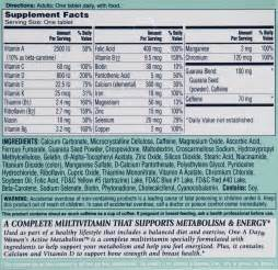 ingredients of conzace multivitamins for women picture 11