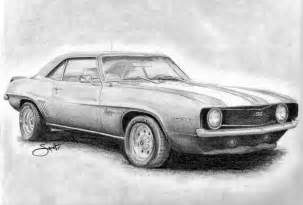 drawing old muscle cars picture 3