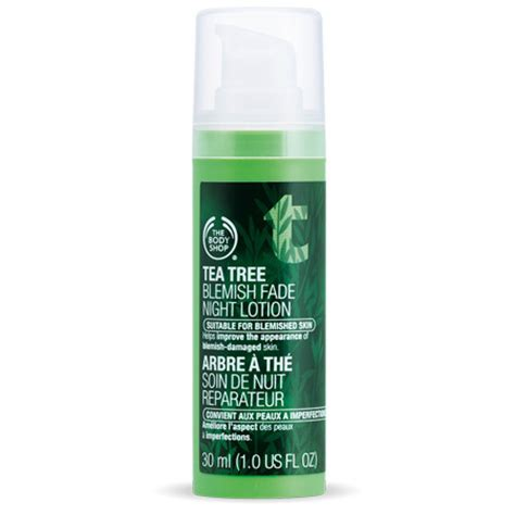 the body shop tea tree blemish fade night picture 1