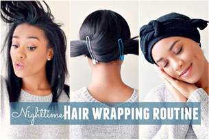 black hair wrap picture 6