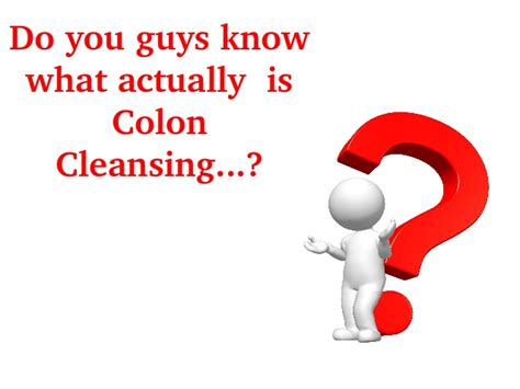 is colon cleansing medically necessary picture 1