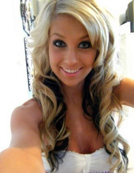 blonde hair with black hair underneath hairstyles picture 4