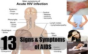 early signs and symptoms of hiv infection in picture 2