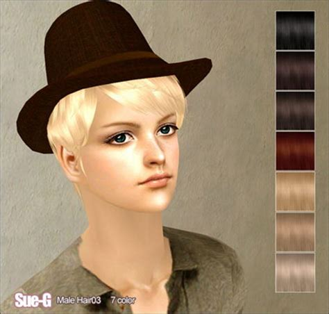 sims 2 fedora hair picture 8