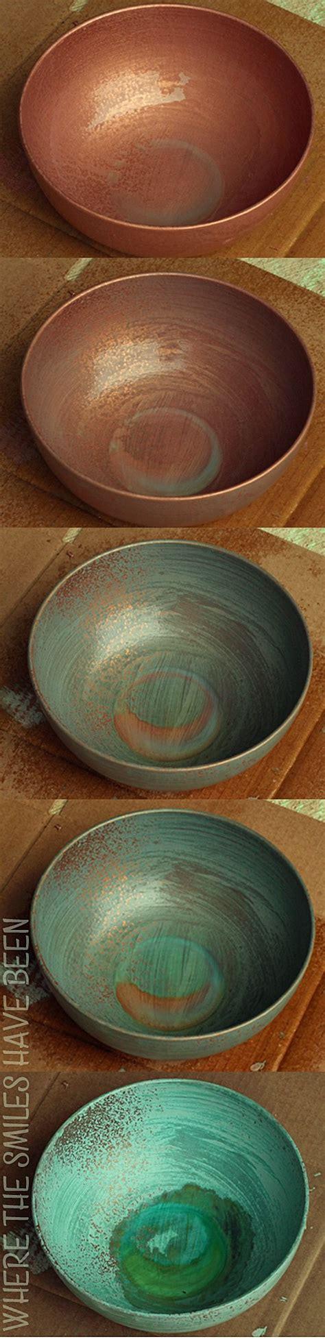 faux aging copper picture 2