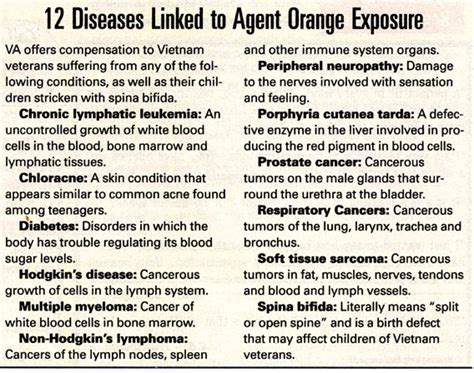 va health on agent orange and prostate cancer picture 8