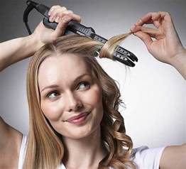 how to curl hair with hot iron picture 1