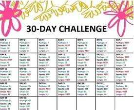 30 day diet picture 1