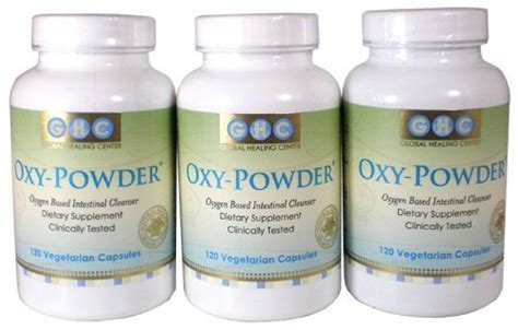 Oxygen based colon cleanser picture 3