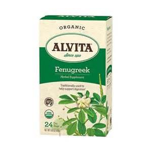alvita fenugreek tea picture 1