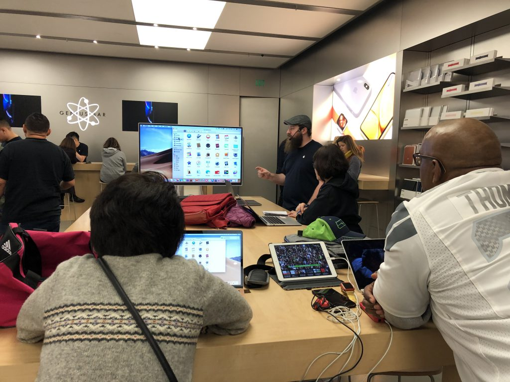 'Today at Apple' sessions nurture learning, sure, but double as community builders