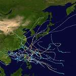 1956 Pacific typhoon season