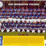1985 Minnesota Vikings season
