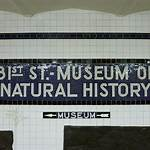 81st Street–Museum of Natural History (IND Eighth Avenue Line)