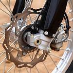 Anti-lock braking system for motorcycles