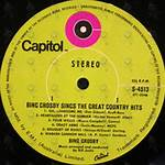 Bing Crosby Sings the Great Country Hits